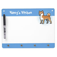 Customize dry-erase board with your name