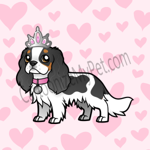 Here's the cartoon Cavalier King Charlies Spaniel I made at Cartoonize My Pet!