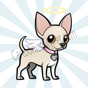 Here's the cartoon Chihuahua I made at Cartoonize My Pet!