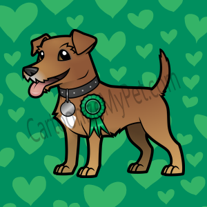 Here's the cartoon Jack Russell Terrier I made at Cartoonize My Pet!