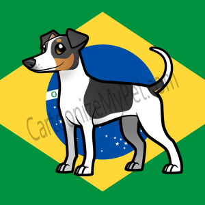 Here's the cartoon Rat Terrier I made at Cartoonize My Pet!